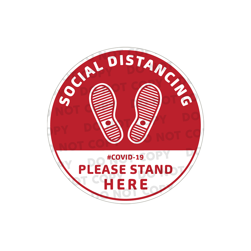 SD Sneaker Stickers 300mm (Pack of 10)