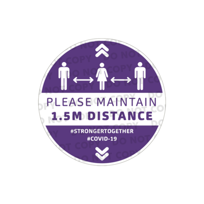 SD Maintain 1.5m Stickers 300mm (Pack of 10)