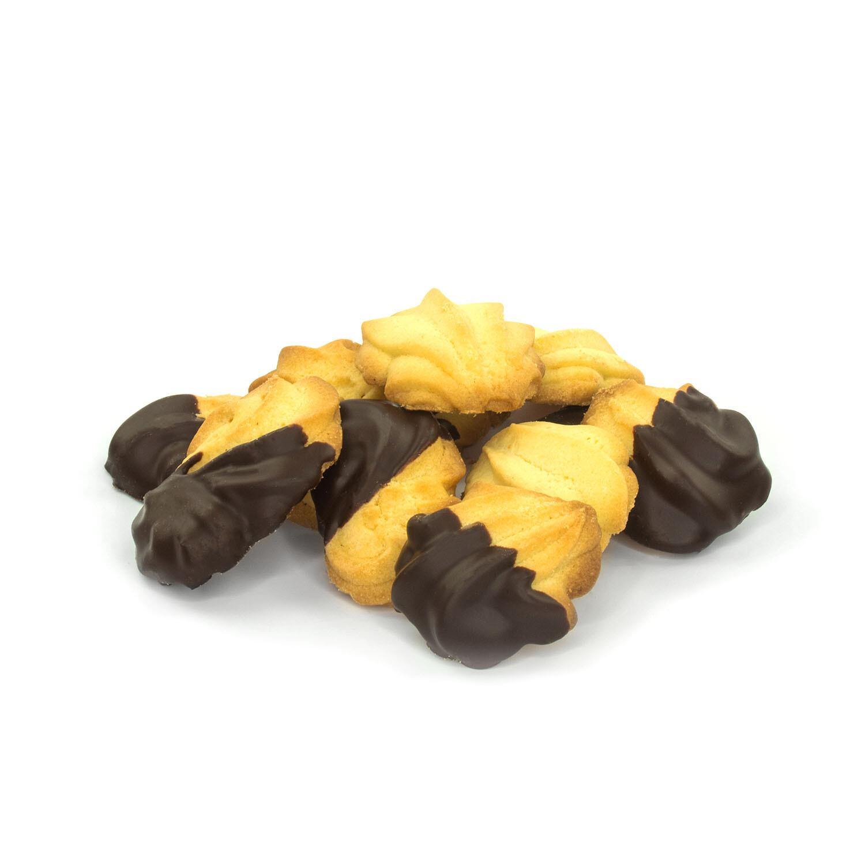 Butterspritzgebäck mit Schokolade 150gr.