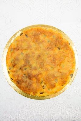 Zuckerkuchen (Kuchen aus Stollenteig)