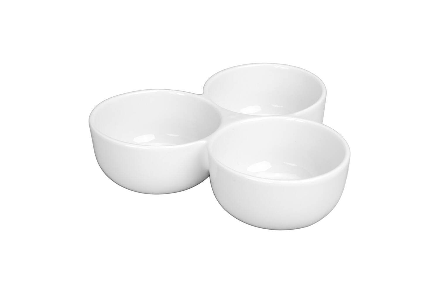 3 SECTION JOINED DIP BOWL