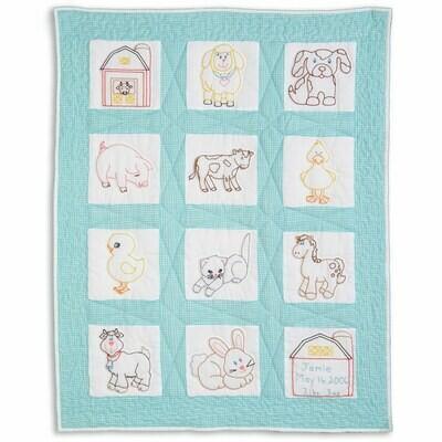Farm Animals Nursery Quilt Blocks
