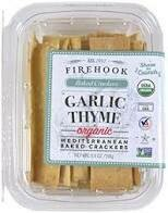 Firehook Baked Crackers Garlic Thyme