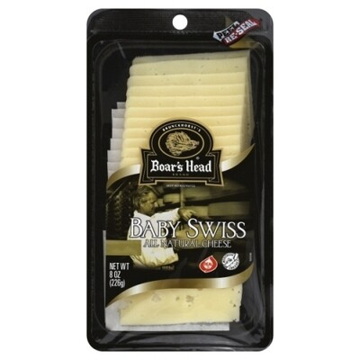 Boars Head Baby Swiss