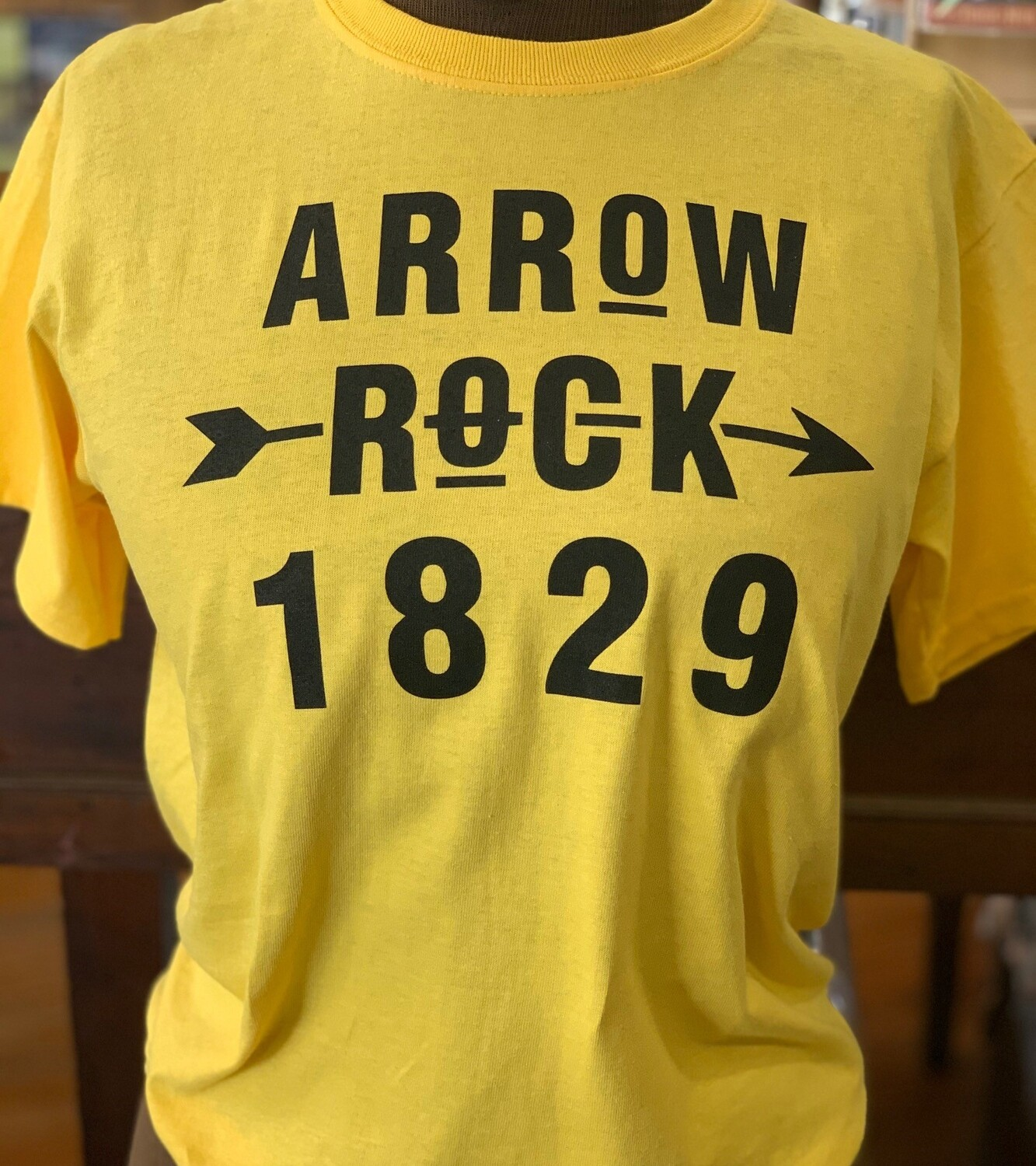 ARROW ROCK 1829 ADULT T-SHIRT (Your Choice of Size & Color)