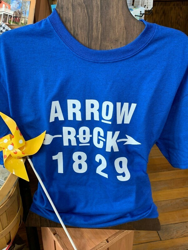 ARROW ROCK YOUTH T-SHIRT (Your choice of size & color)