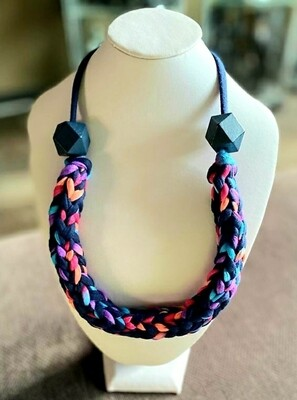 Handmade Yarn Necklace