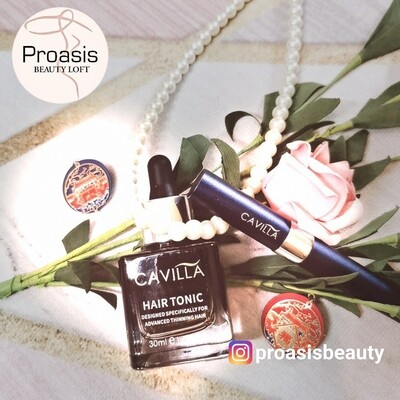 Cavilla Eyelash Essence + Hair Tonic (Bundle Promo)