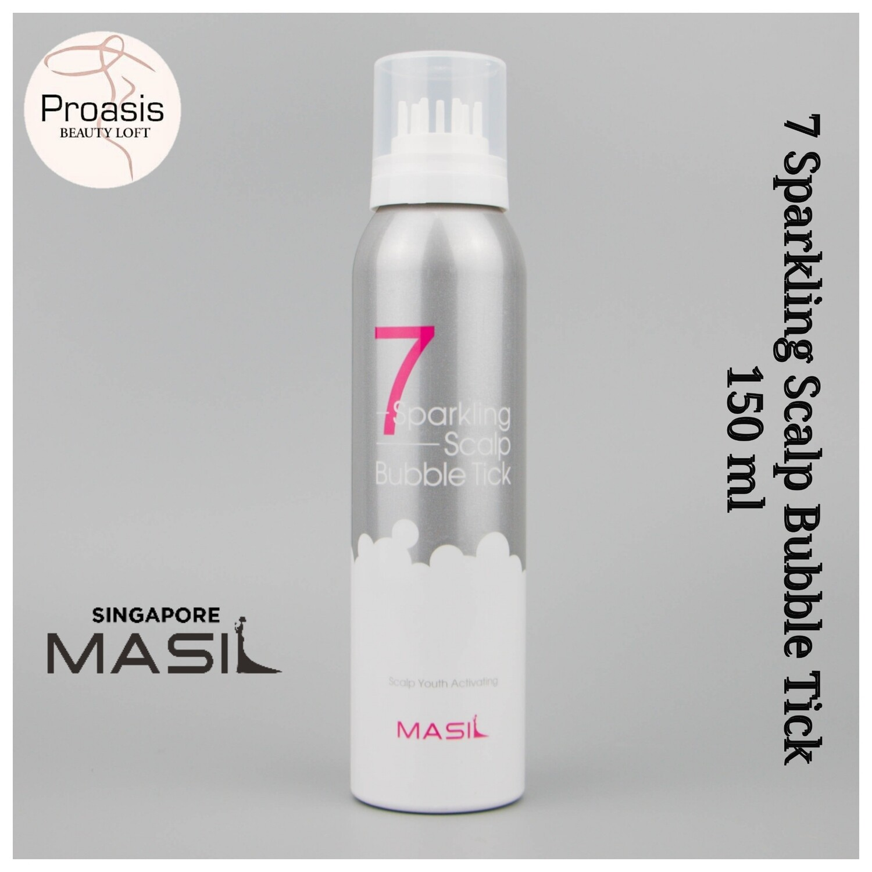 MASIL 7 Sparkling Scalp Bubble Tick 150 ml (Made In Korea)