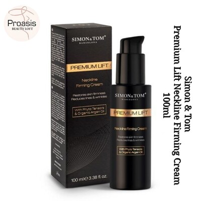Premium Lift Neckline Firming Cream 100 ml {Simon & Tom} Made In Spain (Smoothens + reduce lines and wrinkles on neck)