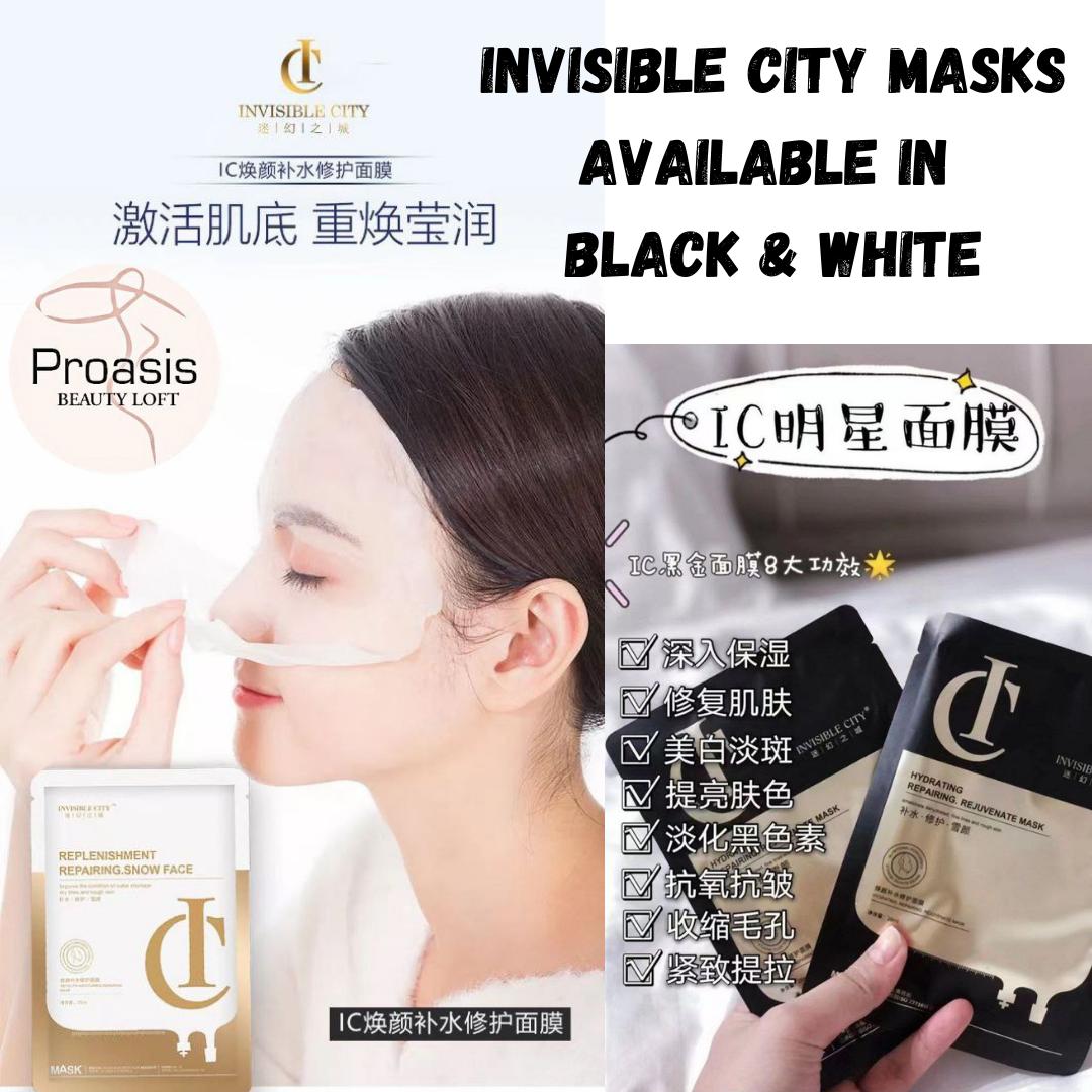 Invisible City IC Mask (3 boxes = 30 pcs)