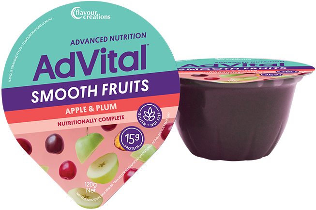 Smooth Fruits - Apple & Plum (12 pack)