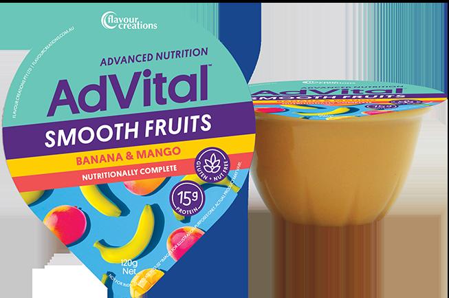 Smooth Fruits - Banana & Mango (12 pack)