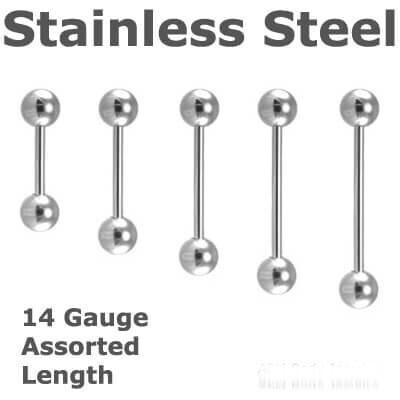 316L Surgical Stainless Steel Barbell