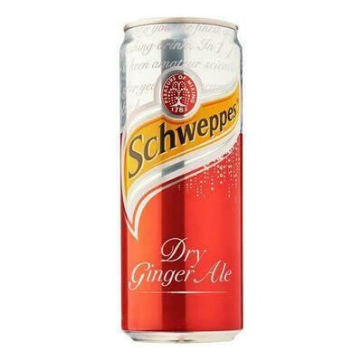 Schweppes Ginger Ale (Case)