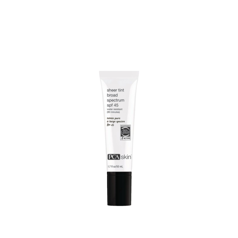 Sheer tint broad spectrum SPF 45 water resistant (80 mins)
