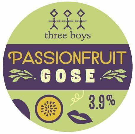 Three Boys Passionfruit Gose