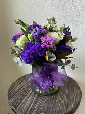 Glass Vase Posies - Florist's Choice