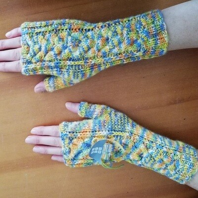 Pulswärmer (Handschuhe) in verschiedenen Fraben