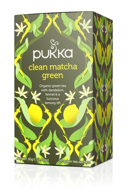 Pukka Clean Matcha Green