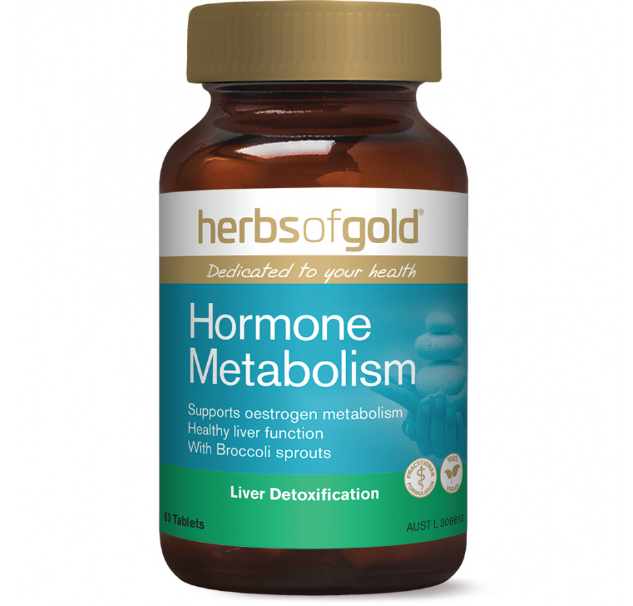 Herbs of Gold Hormone Metabolism - 60 tablets