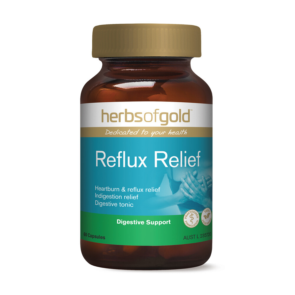 Herbs of Gold Reflux Relief - 60 capsules
