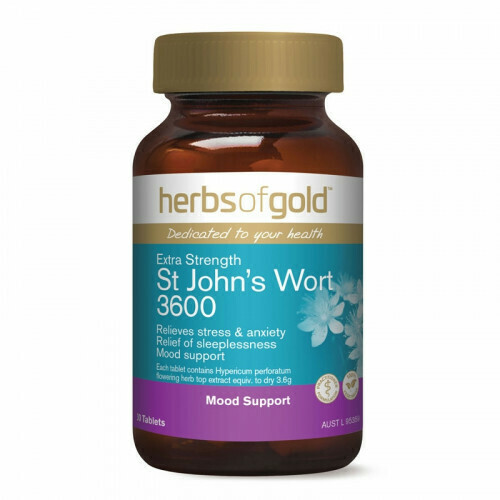 Herbs of Gold St Johns Wort 3600 - 30 tablets