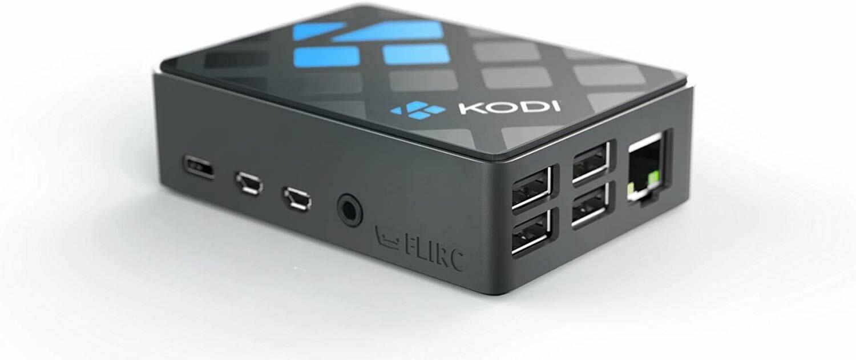 Flirc (Limited Edition) KODI Pi 4 Passive Cooled Case.