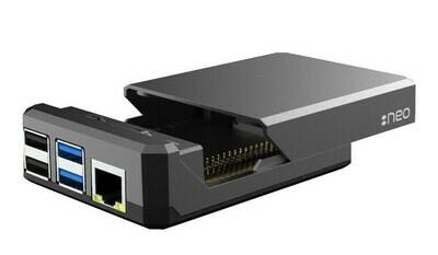 Argon NEO Raspberry Pi 4 Passive HeatSink Aluminium Case.