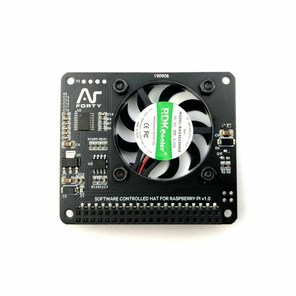 Argon Fan Hat. Suitable for ALL Pi3/Pi4