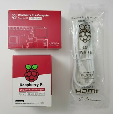 Raspberry Pi 4 4gb & 8gb Premium Kits From $136.50 AUD Delivered!
