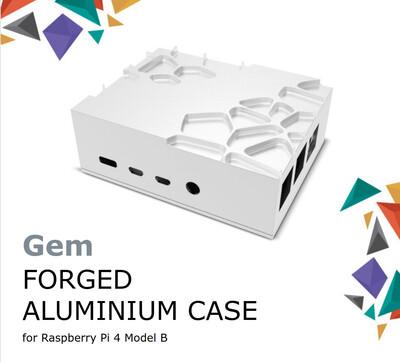 Akasa GemPRO Raspberry Pi4 Case. (Premium Passive Cooling 👑)