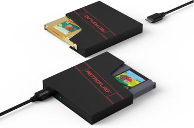 NES Cartridge Style USB Hard Drive Enclosure - RetroFlag