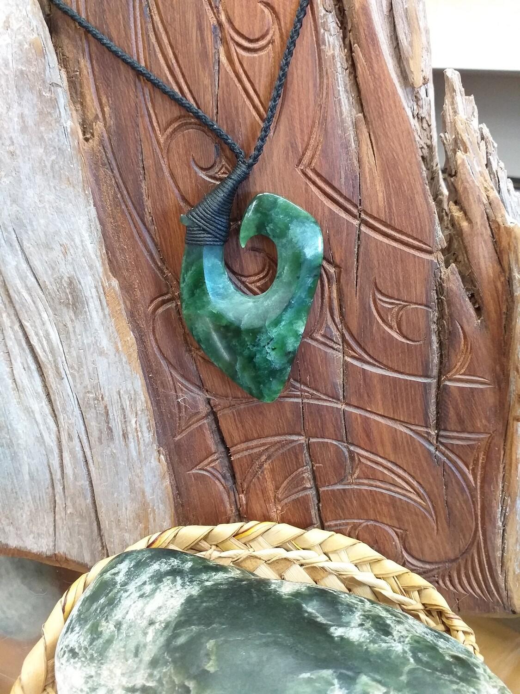 Jade (Pounamu) Fish Hook