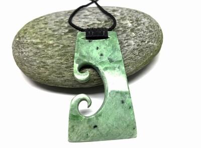 Inanga Jade Toki Pendant