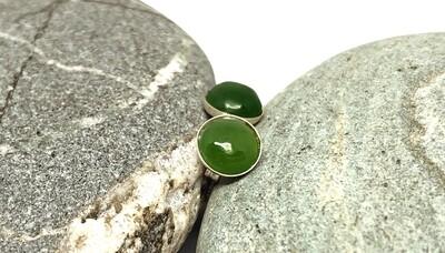 Kahurangi Jade Stud Earrings