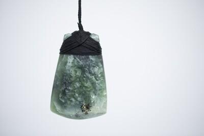 Large Jade Toki Pendant