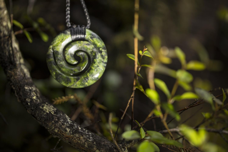 Koru Jade Pendant