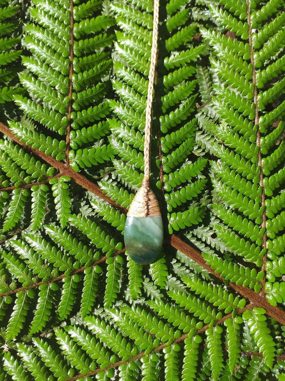 Pounamu Drop pendant