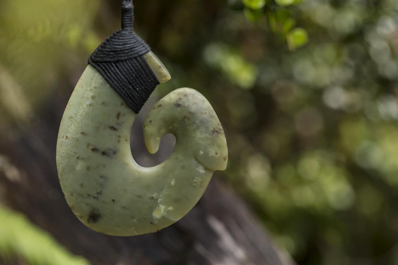 Kokopu Fish Hook pendant