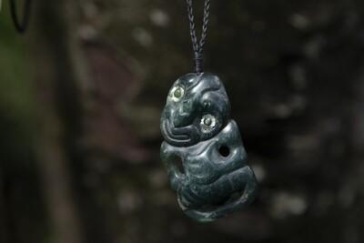 Tangiwai Hei Tiki Pendant