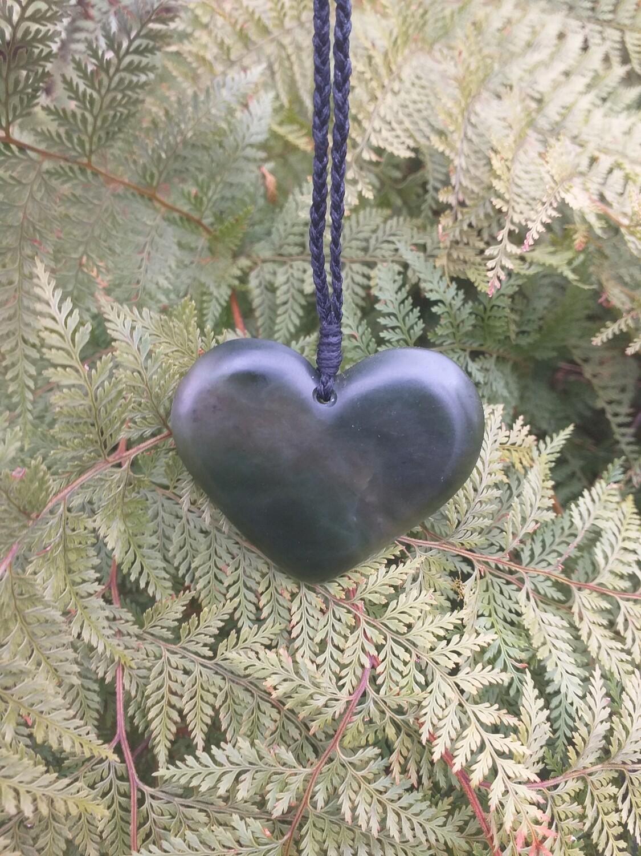 Kawakawa Heart Pendant