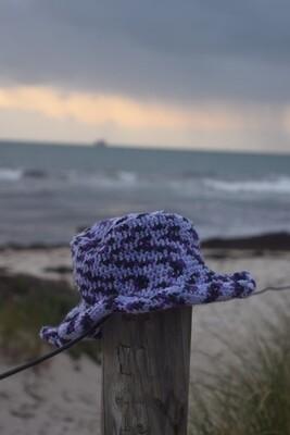 HONEYBUN HAT in multi-purple