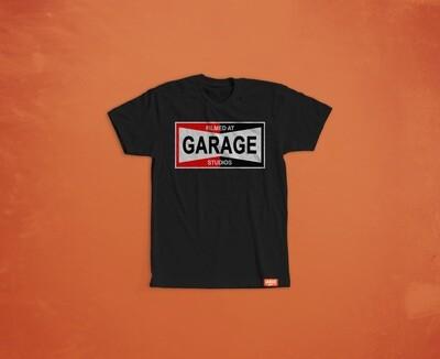 LIMITED EDITION Garage Studios Champion print BLACK