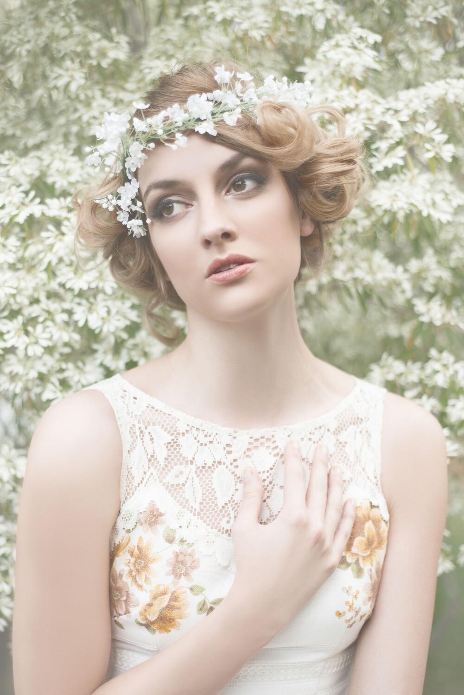 Apple Blossom Springtime Glamour
