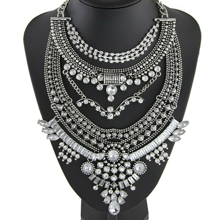 INDIAN Inspired Necklace Choker
