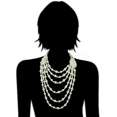 Pearl Necklace Layered