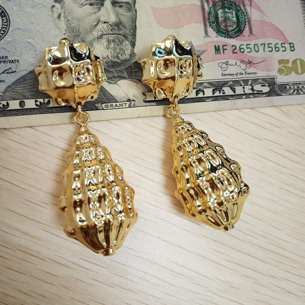 Stainless Steel Drop Earrings For Women