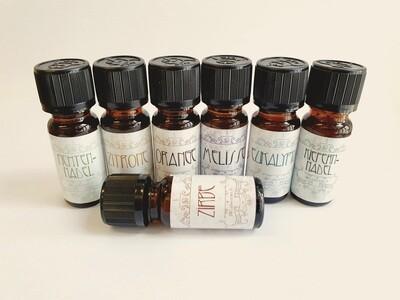 Geschenkset speziell für die INFRAROTKABINE: 100% ätherische Öle, abgefüllt in Österreich, 7x 10ml, Aromatherapie, Duftöle