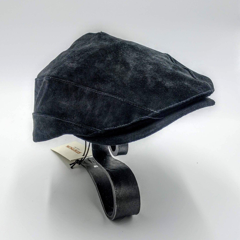 Leather Stetson Newsie